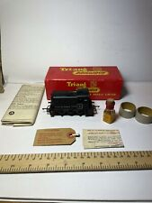 TRIANG R253 BLACK 0-4-0 DOCK AUTHORITY DIESEL SHUNTER No 5 WITH PAPERWORK