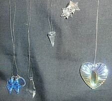 Vintage 8 Iris Arc & Austrian crystals, collectible Suncatchers~star Heart tooth