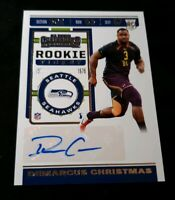 A11 2019 Contenders Rookie Ticket Autograph Demarcus Christmas Auto RC #259