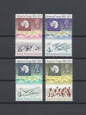 More details for british antarctic territory 1971 sg 38/41 mnh cat £48