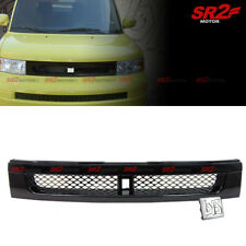 Front Grill Hood Upper BB Emblem Mesh Black ABS Grille fits for 03-07 Scion xB