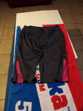 Women's Med, Reebok Gray and Pink, Capri Style, Athletic, Workout Pants, Shorts