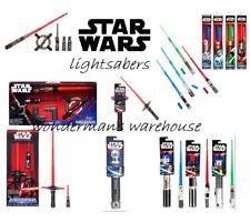 Star Wars Bladebuilder Lightsaber -Extendable/Electronic- Red/Blue/Green-New