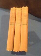 A Modern Comedy Vol 1,2,3 by John Galsworthy Grove Edition (Scribner 1930) Rare