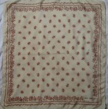-Superbe Foulard GUY LAROCHE 100% soie  TBEG  vintage Scarf 64 x 70 cm
