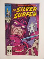 SILVER SURFER #1 (F/VF) 1988 GALACTUS COVER & APPEARANCE