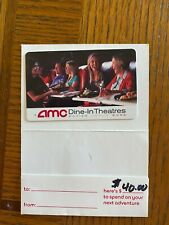 AMC Theaters Gift Card $40 Value for Movies, Dining, Snacks FREE SHIPPING