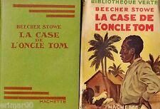 La case de l'oncle Tom // H. BEECHER-STOWE // Bibliothèque Verte // 1946