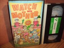 Watch with Mother - Rare  vhs original release