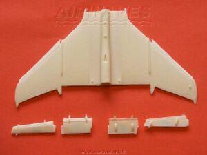Airwaves 72069 1/72 Resin Sepecat Jaguar wings with open slats HASEGAWA