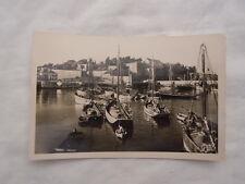 Ancienne carte postale de Belle-île-en-Mer Le Palais L'avant port Citadelle