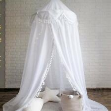 Bed Canopy Round Dome, Chiffon Mosquito Net Indoor Outdoor Playing Reading Tent