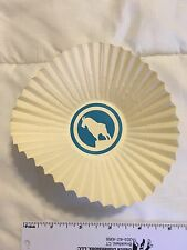 Vintage Great Northern Railroad Paper Cup Doilies, Unused