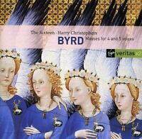Harry Christophers - Byrd  Motets and Masses [CD]