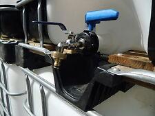 """IBC Adapter Regenwassertank 3/4"""" Auslaufhahn Gardena für 1000 Liter Wassertank"""