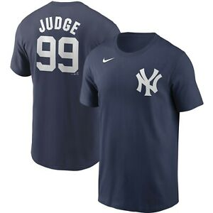 Aaron Judge New York Yankees Nike Official Name & Number T-Shirt New ADULT