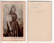 Eisenbach b.Wiesbach,Bürgermeister Jäggle u.Frau in Schwarzwald Tracht,um 1880