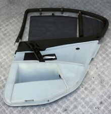 *BMW 5 Series E60 M5 Rear Right O/S Door Leather Card Trim Panel Roller Blind