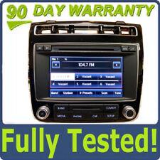 11 - 14 Volkswagen Touareg Touch Screen Display SAT HD Radio RCD-550 Non Navi