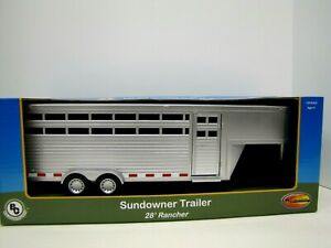 1/20 Scale Big Country Sundowner Trailer, 28' Rancher Toy