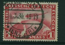 Stamp Germany DR ZEPPELIN 1931, Mi455, used, combine shipping, 0152