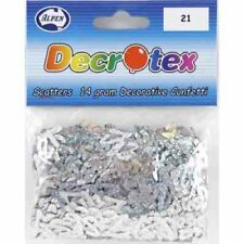 SCATTERS 21ST BIRTHDAY SILVER 14GRAMS BIRTHDAY TABLE DECORATION