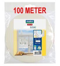 100 m Fenster-Dichtung 0,29€/m Türdichtung PE-Schaumstoffdichtung  UV best  weiß