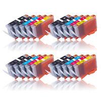 20x kompatibel zu CANON PGI-525PGBK CLI-526BK C M Y mit Chip