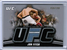2010 TOPPS UFC KNOCKOUT JON FITCH AUTHENTIC FIGHT MAT RELIC SILVER /188