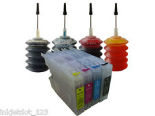 4 Refillable ink cartridge for Brother LC75 MFC-J280W MFC-J425W MFC-J430W 4x30ml