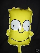 "9"" Bart Simpson Face Character Mini Foil Balloon- M59"