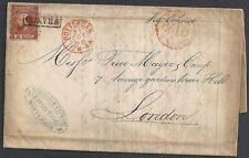 Netherlands 1868 Nvph 9 folded letter to London