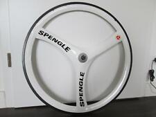 Nos 1990 vintage spengle Triton carbon 700c Aero trispoke time trial Road Wheel
