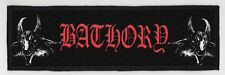 BATHORY SUPERSTRIP PATCH / SPEED-THRASH-BLACK-DEATH METAL