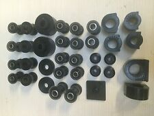 Triumph Spitfire/ Herald Front and Rear bush set in Black duraflex Polyurethane