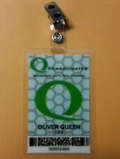 Flèche Identification Badge - Consolidé Oliver Queen Ceo Cosplay Prop Costume