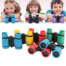 4x30 Children Binoculars Pocket Rubber Telescope For Kids Games Random Colors