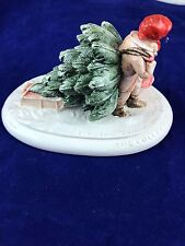 """Sebastian Miniatures The Collectors Christmas Series """"Bringing Home the Tree"""""""