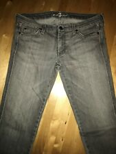 7 for all Mankind Jeans Gr. 32 grau 7/8 Hose