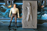 STAR WARS FIGURE 1995 POTF COLLECTION HAN SOLO IN CARBONITE