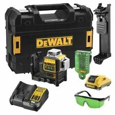 Dewalt DCE089 Green 360° Self Levelling Cross Line Laser Level - DCE089D1G