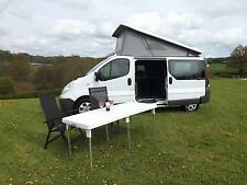 2014 Renault Trafic White Campervan 5 berth / 5 seat Pop Up Roof - Ex Demo
