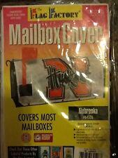 Nebraska Cornhuskers Flag Factory Two-Sided Mailbox Cover; SEC; NCAA