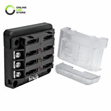 12V - 30V DC 100A 6 Way ATC/ATO Blade Fuse Box Block for Automotive