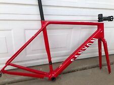 Canyon Ultimate SL Carbon Frameset M 56cm Red Zipp