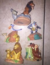 DISNEY STORE Lil Classics LION KING Bundle (5)PVCS Heavy Figures SIMBA Scar NALA