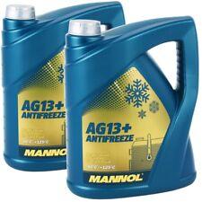 2x 5 LITRI MANNOL RADIATORE ANTIGELO REFRIGERANTE Advanced ag13+ GIALLO fino a -40 ° C
