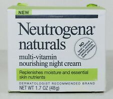 Neutrogena Naturals Multi Vitamin Nourishing Night Cream, Vitamin B C E & Antiox