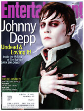 Entertainment Weekly Magazine May 11 2012 Johnny Depp Adam Lambert Norah Jones