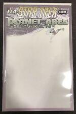 Star Trek Planet of the Apes #1 Cover D Blank Sketch Cvr Idw Boom! Comic